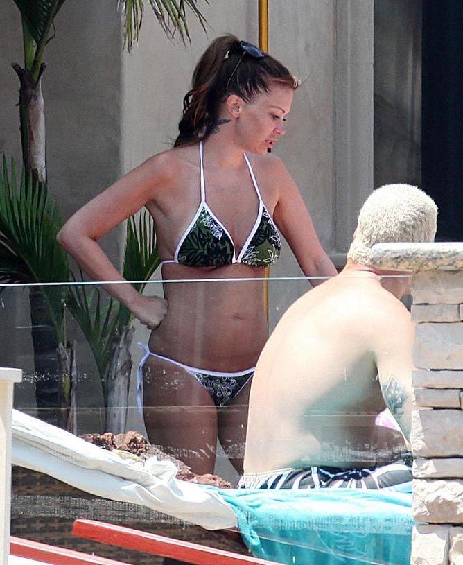 Jenna Jameson in bikini (6 pics)