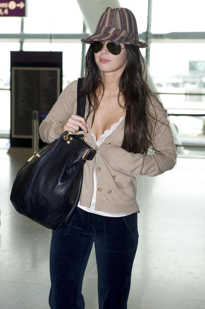 Megan Fox and her beautiful cleavage (7 pics)