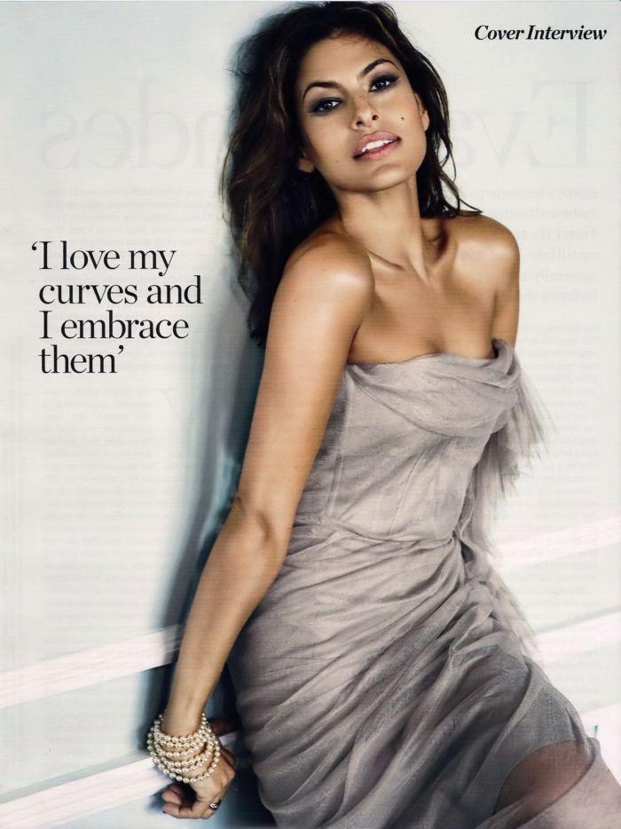 Eva Mendes in Marie Claire (6 pics)