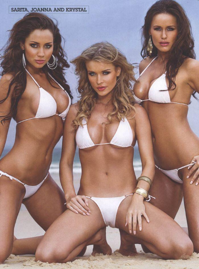 Krystal Forscutt, Sarita Stella and Joanna Krupa (9 pics)