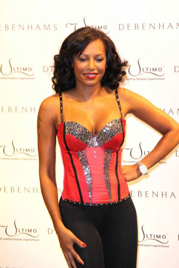 Mel B. Nice cleavage (10 pics)