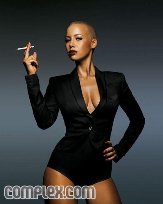 Amber Rose in Complex (8 pics)