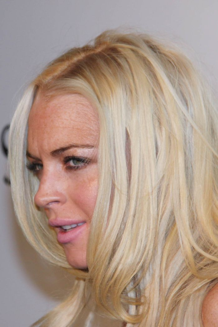 Lindsay Lohan Looks Not So Good (9 pics)