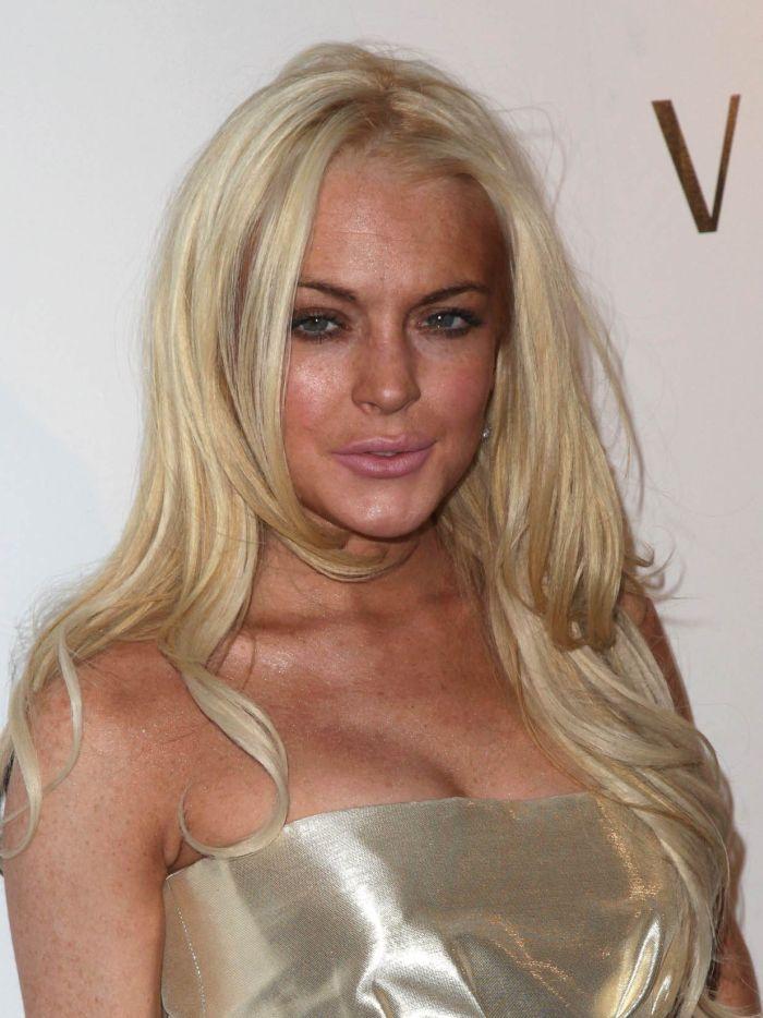 Lindsay Lohan Looks Not So Good (9 pics)