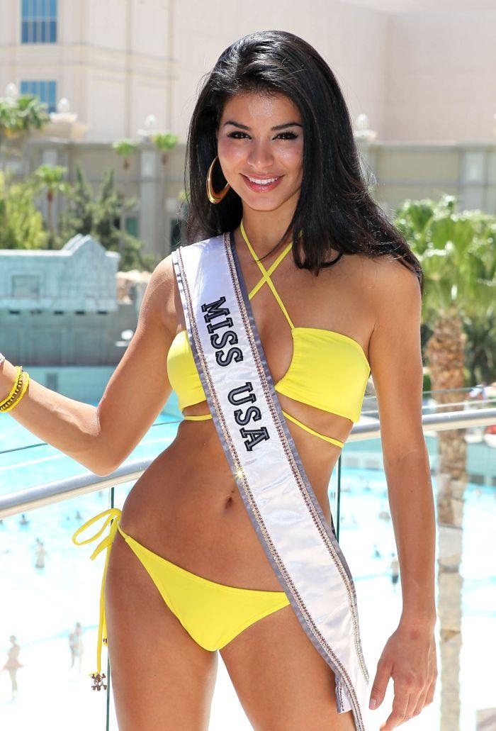 Miss USA Rima Fakih in Bikini (6 pics)