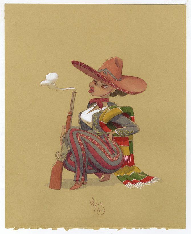 Drawings by Bill Presing (40 pics)