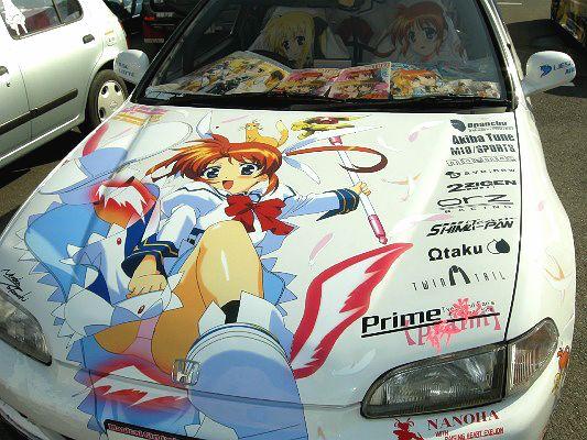 Anime Cars (12 pics)