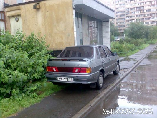 I`m parking like an idiot (86 pics)