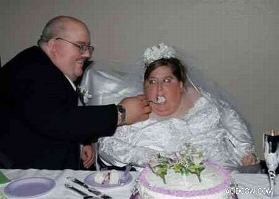 Pictures which will never get in a wedding album...