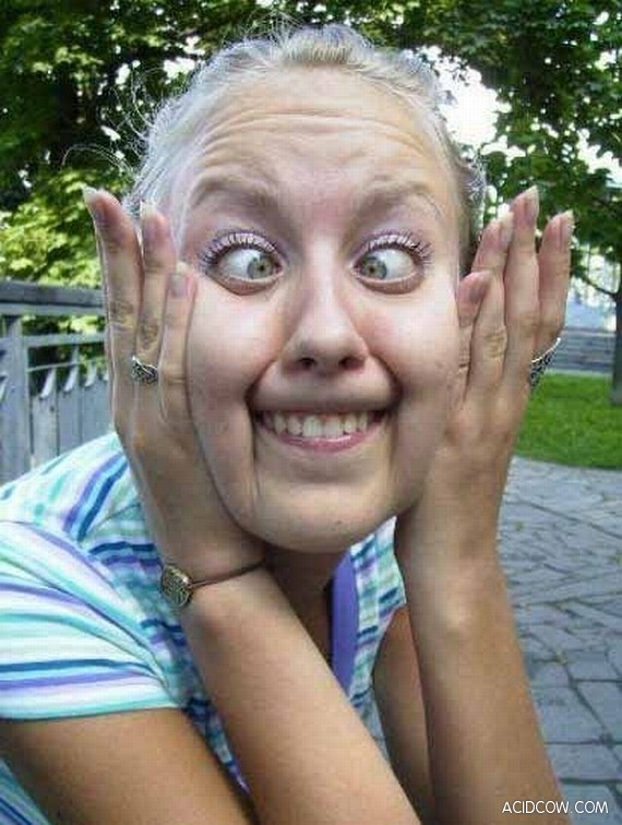 Funny and Weird Faces (20 Pics)