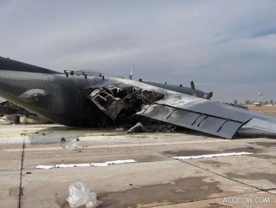 Bad Landing (4 Pics)