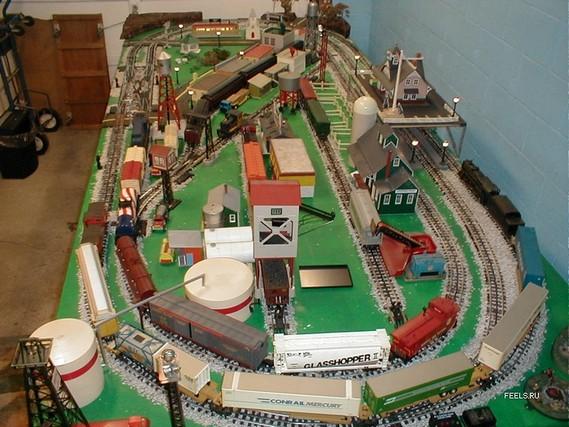 Как в домашних условиях сделать макет железной дороги