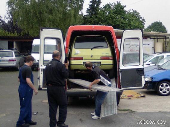 Freight car (3 pics)