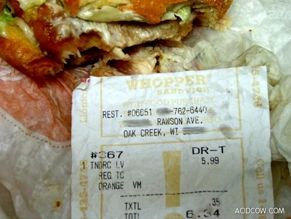 Long live the fast-food! (4 pics)
