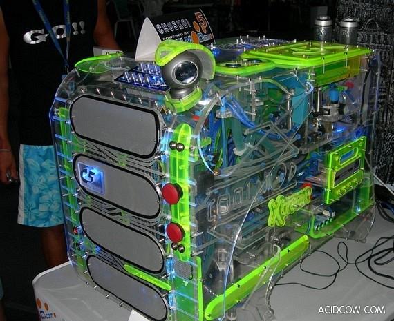 Unusual computer cases (26 pics)