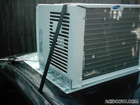 Auto Air Conditioner Installation...