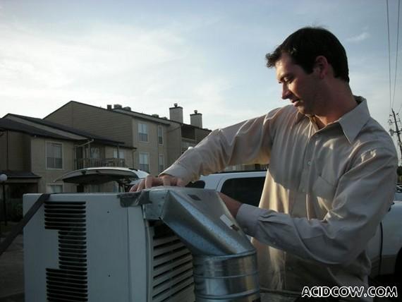 Auto Air Conditioner Installation...