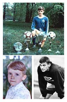 Football Stars: In Childhood and Now (50 pics)