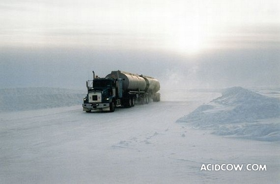 Canada Arctic Ice Road (36 photo)