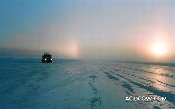 Canada Arctic Ice Road (36 photo)