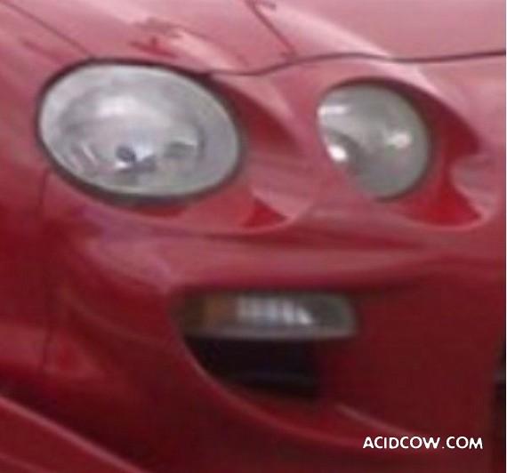 Headlight Smile (4 pics)