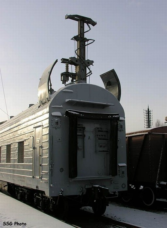 Railroad Missile Launch System (8 pics)
