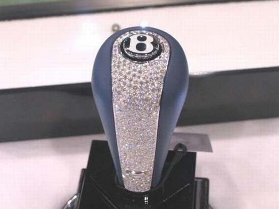 The Most Expensive Shift Knob in the World (3 pics)