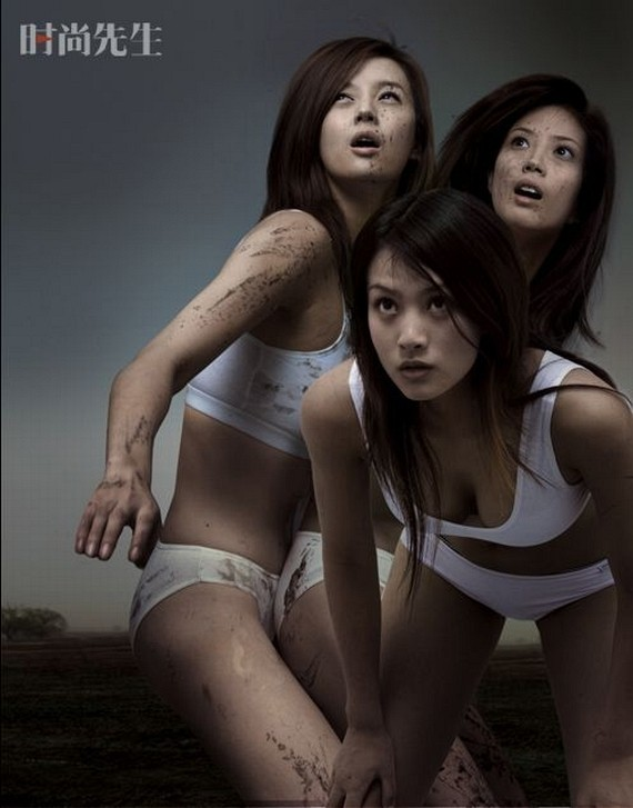 Chinese Women Football. Full version (17 pics)