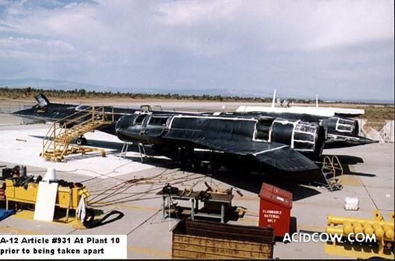 Military plane A-12 (25 pics)