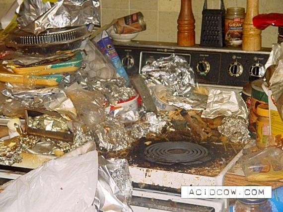 Dirty apartment (30 pics)