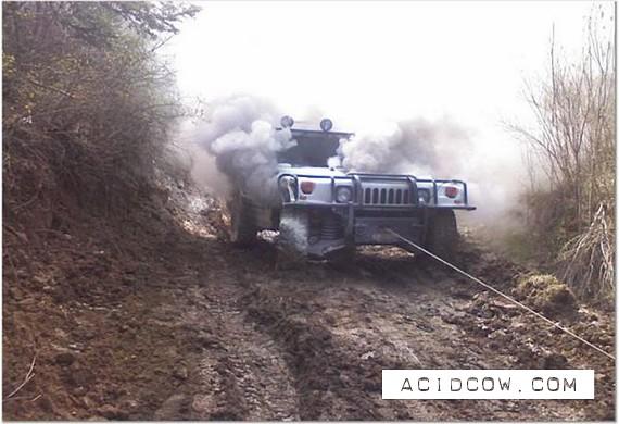 Hummer is a reliable car? (10 pics)