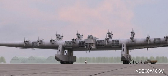 Flying fortress (11 pics)
