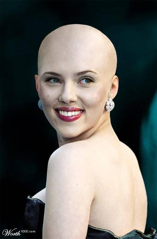 Bald celebrities (28 pics)