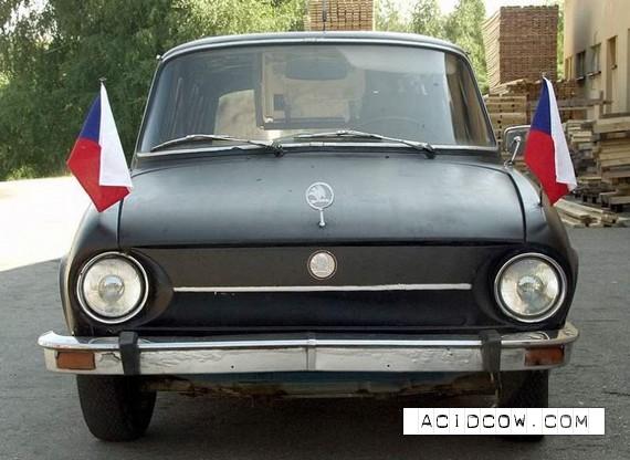 Meet - budget limousine Skoda (12 pics)