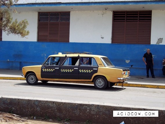 Self-made limousines from Cuba (9 pics)
