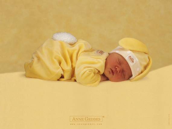 Photos of children by Anne Geddes (30 pics)