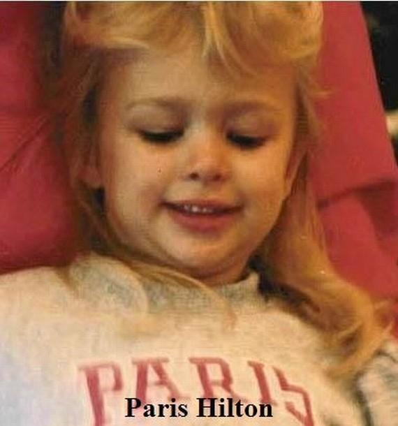 Малявка Пэрис Хилтон.