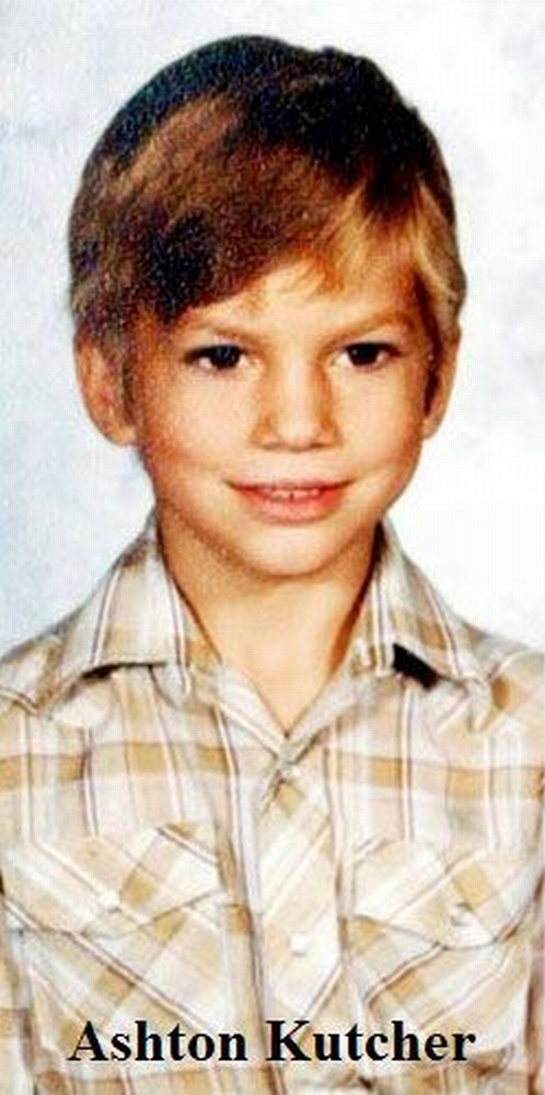 Pictures of celebrities in their childhood (110 pics)