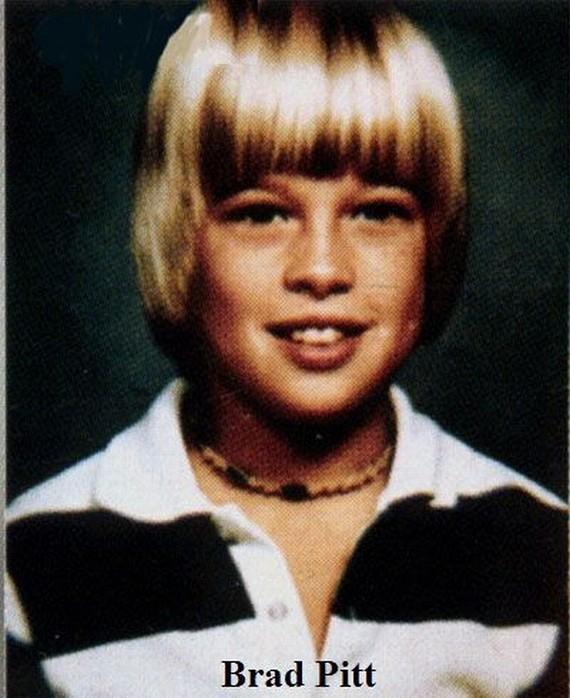 Fotos de Famosos cuando no eran famosos en su mayoria eran niños¡ 42