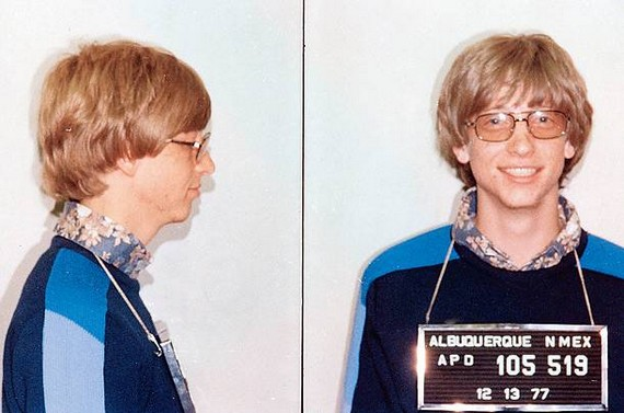 Bill Gates - the early years (8 pics)