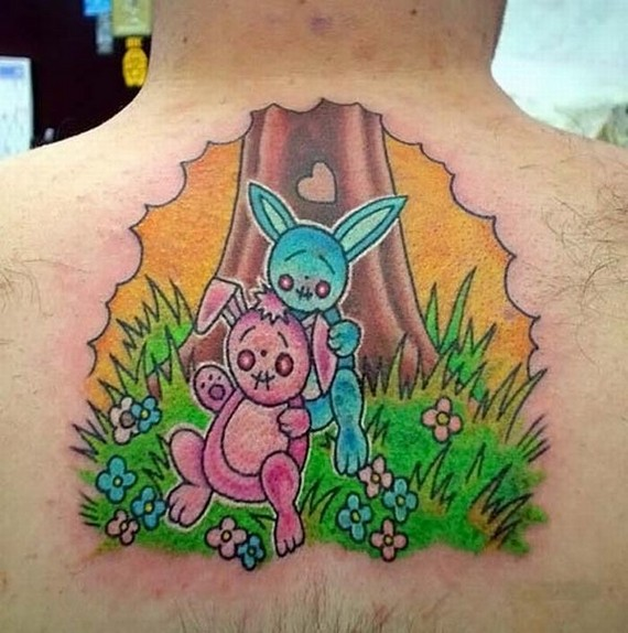"""Positive"" Tattoo (6 pics)"