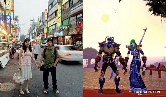 People and their avatars (16 pics)