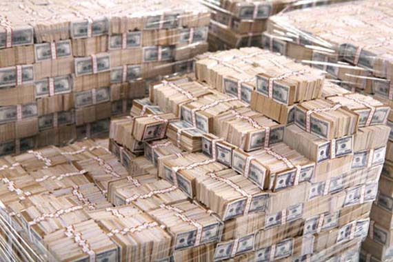 Do you Know What One Billion of Dollars Look? (4 pics)