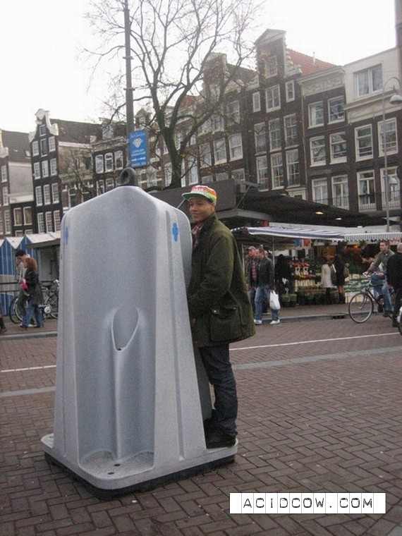 WC in Amsterdam (9 pics)
