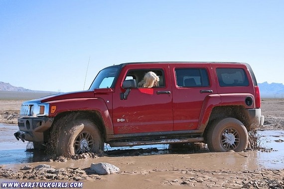 Car Stuck Girls (56 pics)