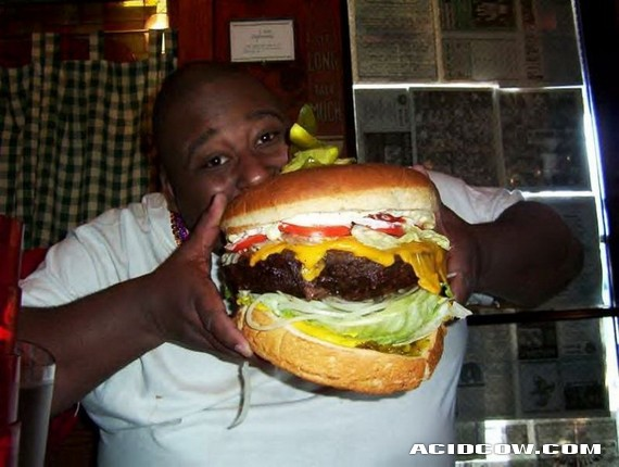 Mega-burgers (9 pics)