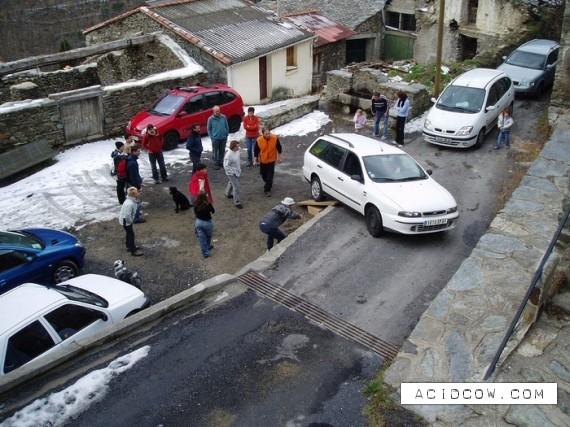 The got stuck cars (26 pics)