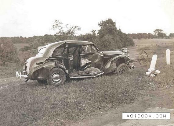 Smart Car Semi Crash
