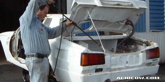 1984 Group B Toyota Celica Turbo restoration (65 pics)
