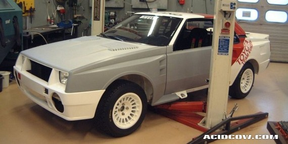 1984 Group B Toyota Celica Turbo restoration (65 pics)